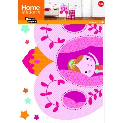 Sticker Kids XXL princesses Nouvelles Images 49 x 69 cm