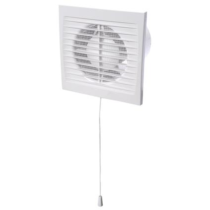 Sencys Ventilator Basic 100mm Trekkoord CE
