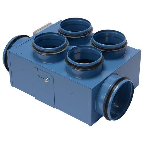 Extracteur de maison Sencys 3 x 125 et 4 x 100 mm