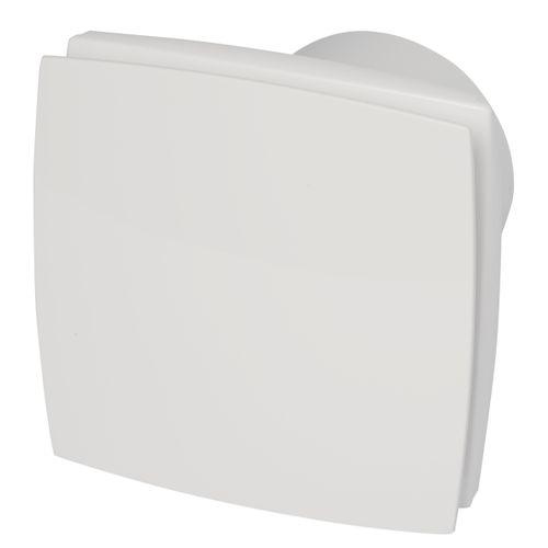 Sencys ventilator Deco Wit Ø100mm 12V Timer Vochtsensor CE