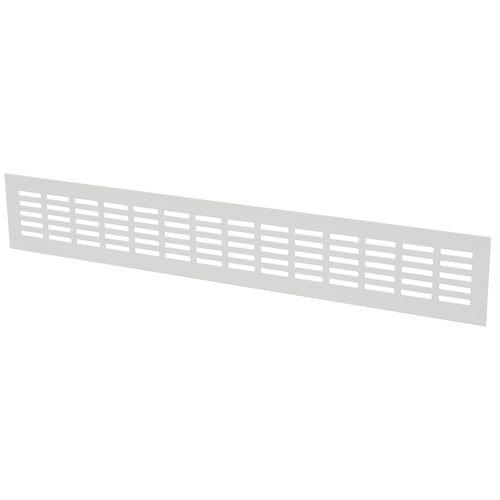 Sencys ventilatiestrip 50x8cm aluminium wit