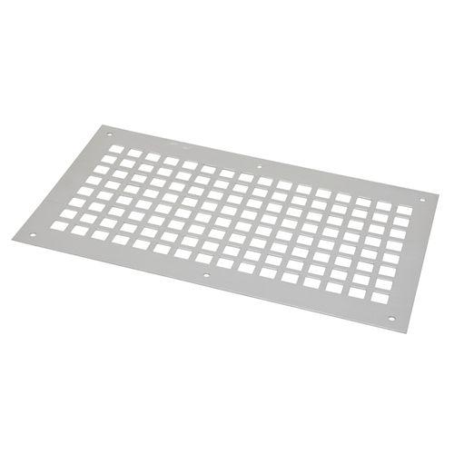 Sencys ventilatieplaat 250x150mm aluminium