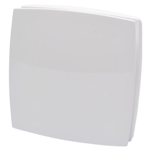 Sencys deco-verluchter met vochtregelaar wit 100 mm