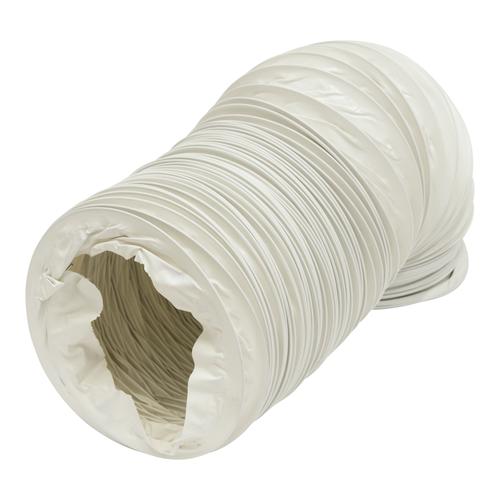 Sencys Flexbuis PVC Wit Ø125mm 300cm