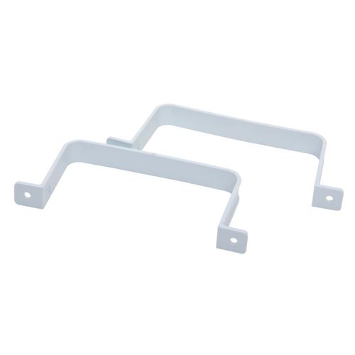 Raccord plat Sencys 110 x 55 mm colliers de fixation 2 pcs