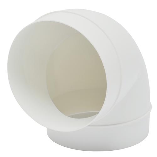 Coude 90° Sencys plastique Ø 125 mm