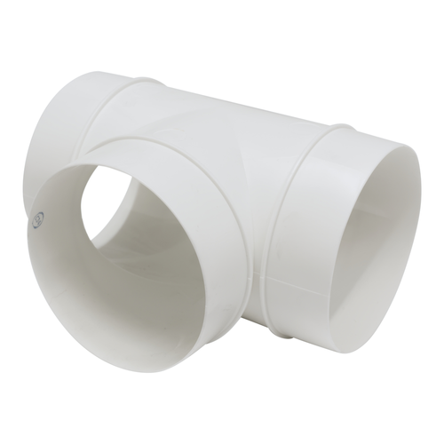 Tube equerre Sencys plastique Ø 100 mm