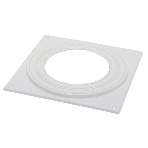 Sencys afdekplaat plafond wit Ø 10-15 cm