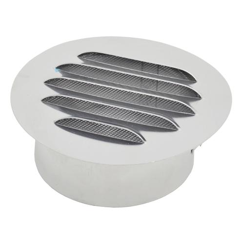 Grille de ventilation Sencys aluminium rond 100 mm