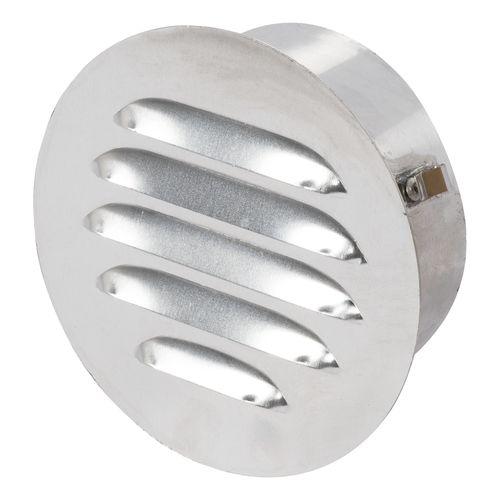 Sencys ventilatierooster aluminium rond 125 mm