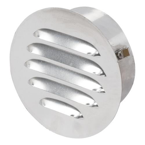 Grille de ventilation Sencys aluminium rond 125 mm