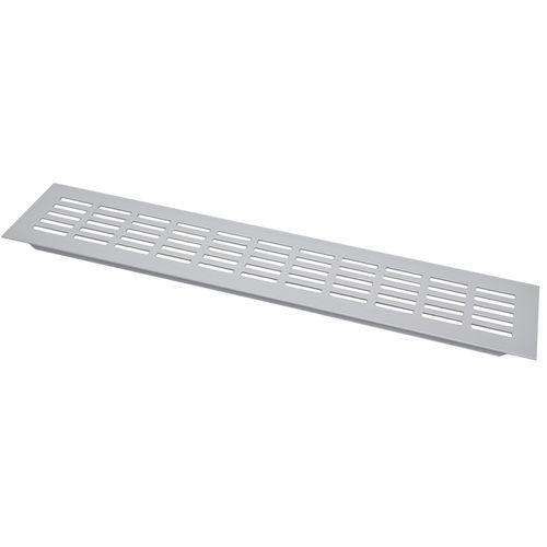 Sencys ventilatiestrip aluminium geanodiseerd 40 x 8 cm