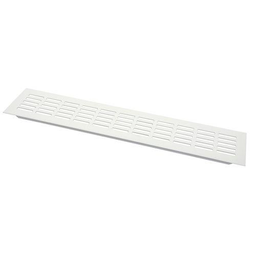 Sencys ventilatiestrip aluminium wit 40 x 8 cm