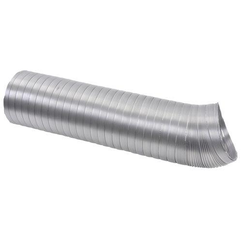 Sencys flexbuis aluminium voor geiser en VMC Ø104-111mm 150cm