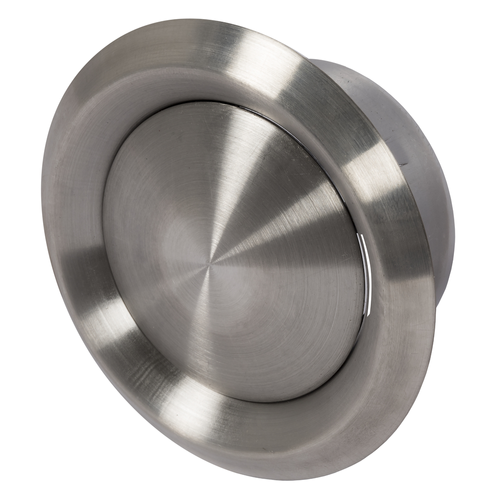 Bouche d'air Sencys inox Ø 100 mm