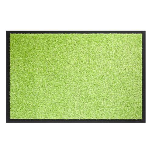 Paillasson Sencys 'Twister' vert citron 60 cm x 90 cm