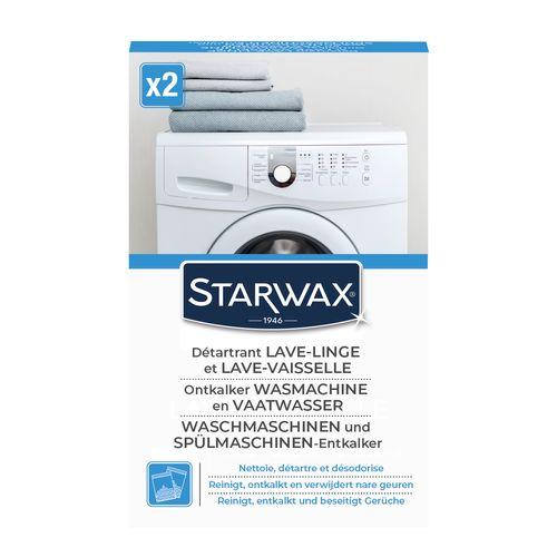 Starwax reiniger ontkalker voor was- en vaatwasmachine 'Huishoudelijke Apparaten' 2 x 75 g