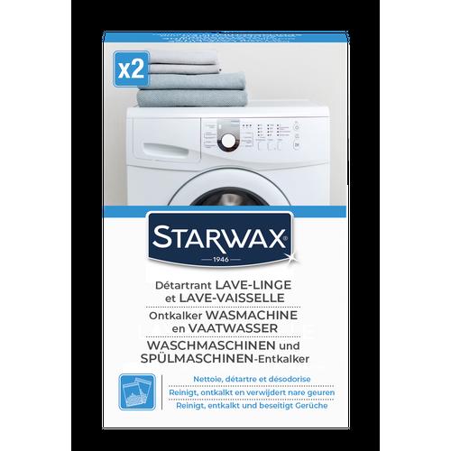 Nettoyant détartrant lave-linge & lave-vaiselle Starwax 'Appareils Ménagers 2 x 75 g
