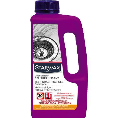 Déboucheur gel Starwax canalisation 1L