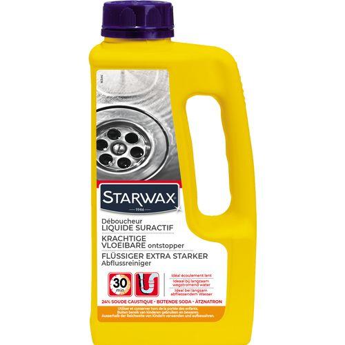 Déboucheur liquide canalisations Starwax 1L