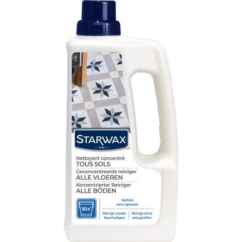 Nettoyant usage fréquent Starwax 'Sols Carrelés' 1 L