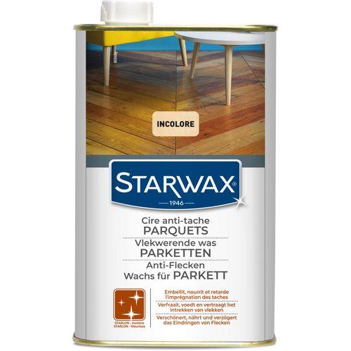 Cire anti-tache Starlon Starwax 'Parquet Ciré' incolore 1 L
