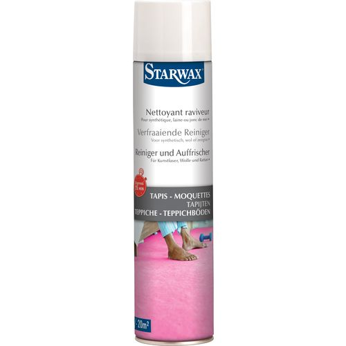 Nettoyant raviveur express Starwax 'Tapis - Moquettes' 600 ml
