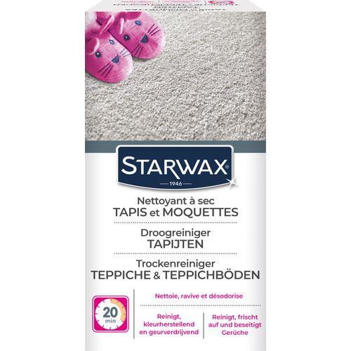 Nettoyant à sec Starwax 'Tapis - Moquettes' 500 g