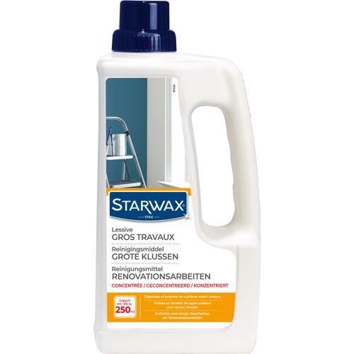 Lessive sols et murs Starwax 'Gros Travaux' 1 L