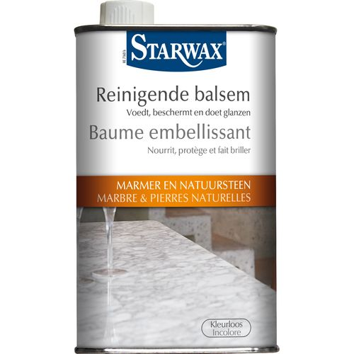 Beaume embelissant Starwax 'Marbre & Pierres Naturelles' 500 ml
