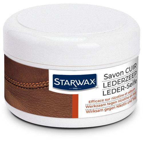 Savon doux régénérant Starwax 'Cuir' 150 ml