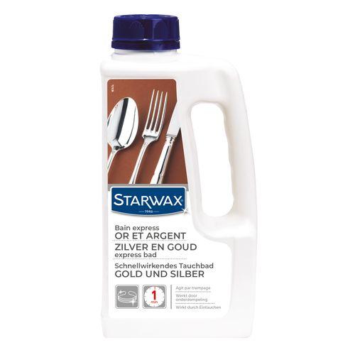 Nettoyant express Or et Argent Starwax 'Métaux' 1 L