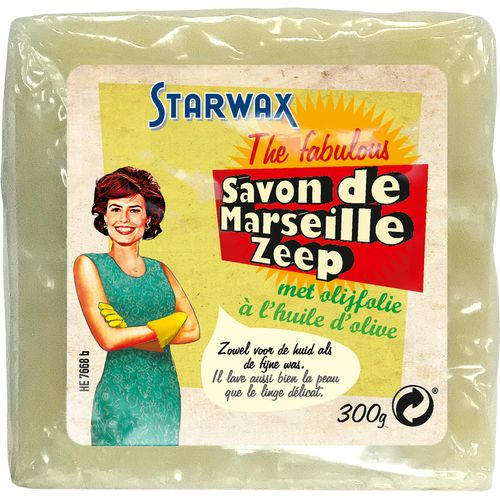 Savon de Marseille Starwax The Fabulous 300gr huile d'olive