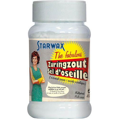 Sel d'oseille Starwax 'The Fabulous' multi-usages 500 ml
