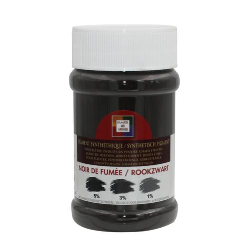 Pigment 'Malles aux couleurs' noir de fumée 250ml