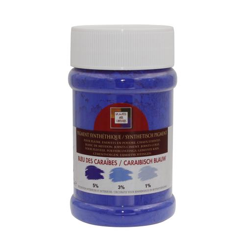 Pigment 'Malles aux couleurs' bleu des caraïbes 250ml
