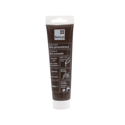 Colorant ultra concentré Sencys chocolat glacé 100ml