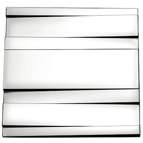 Spiegel 'Nuance' 58 x 58 cm