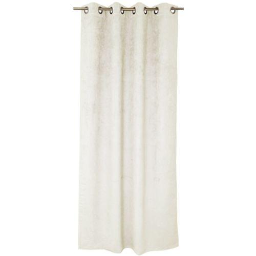 Rideau Decomode 'Emma' tamisant blanc cassé 140 x 280 cm