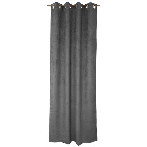 Rideau Decomode 'Emma' tamisant stone 140 x 280 cm