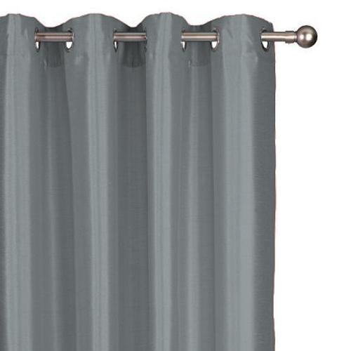 Decomode gordijn Chloe lichtdoorlatend zink 140 x 280 cm