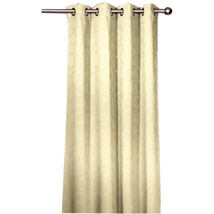 Rideau Decomode 'Julien' occultant corde 140 x 280 cm
