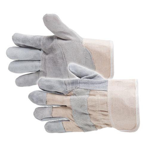 Busters handschoenen American leder grijs – 6 paar