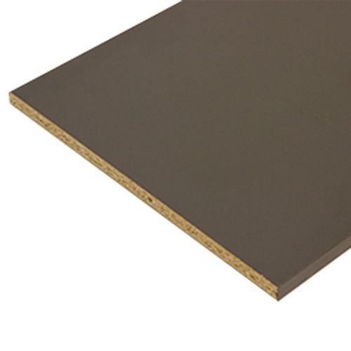 Sencys meubelpaneel antraciet grijs 250x60cm