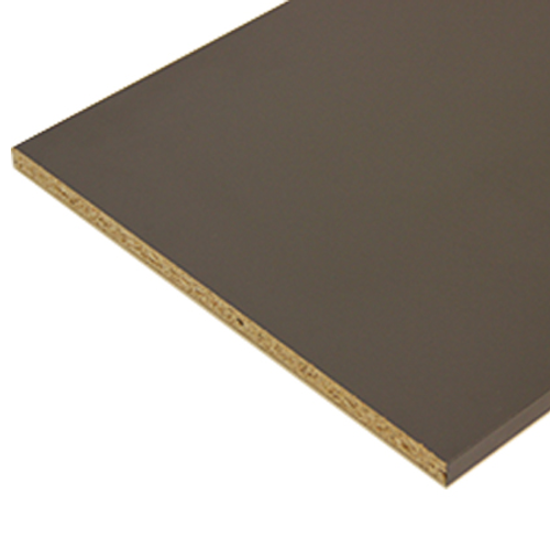 Sencys meubelpaneel antraciet grijs 250x30cm