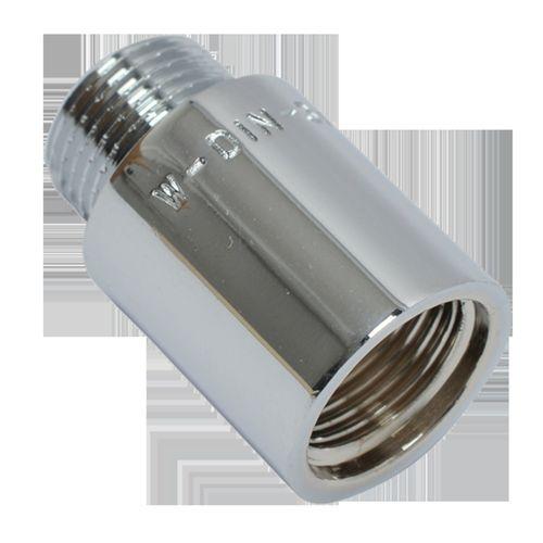 """Rallonge Sanivesk chrome 3/8""""Fx3/8""""Mx25mm"""