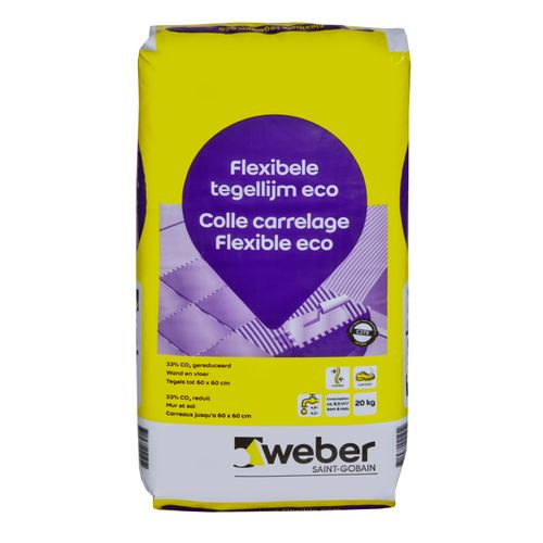 Weber flexibele tegellijm eco 20kg