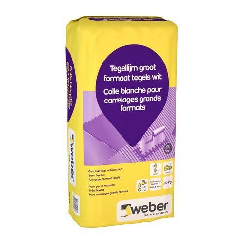 Weber tegellijm grootformaat tegels 20kg
