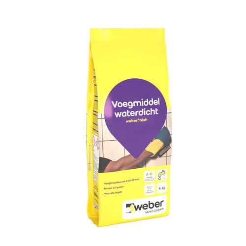 Weber finish voegmiddel wit 4kg