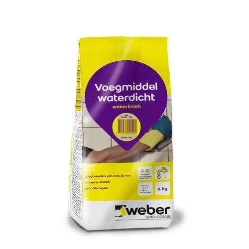 Weber finish voegmiddel jasmijn 4kg